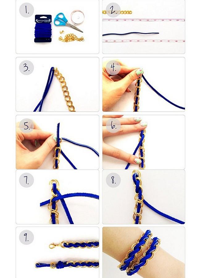 Браслеты своими руками и схема плетения фото 913