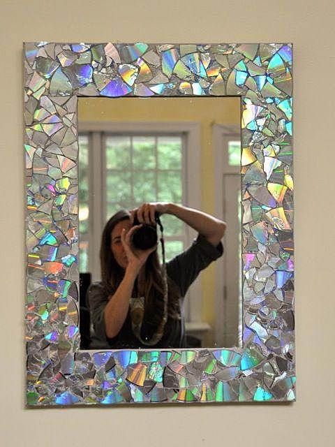 Зеркало декор рама