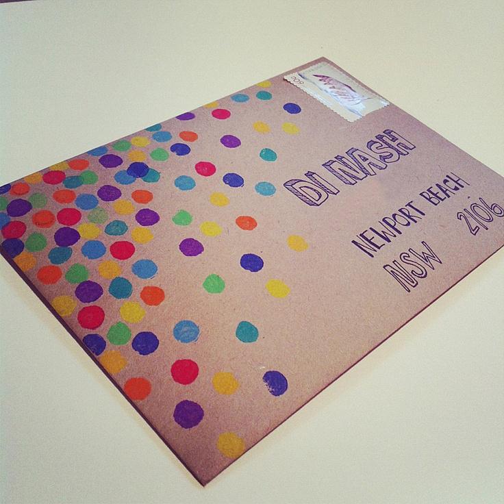 Украсить конверт своими руками