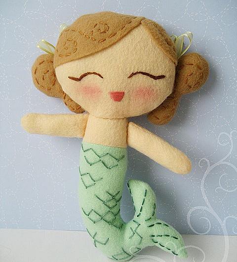 Русалка кукла своими руками