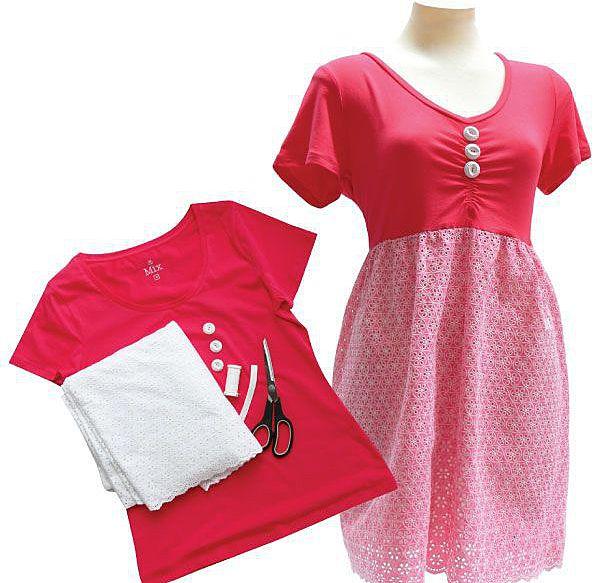 Переделка трикотажного платья своими руками