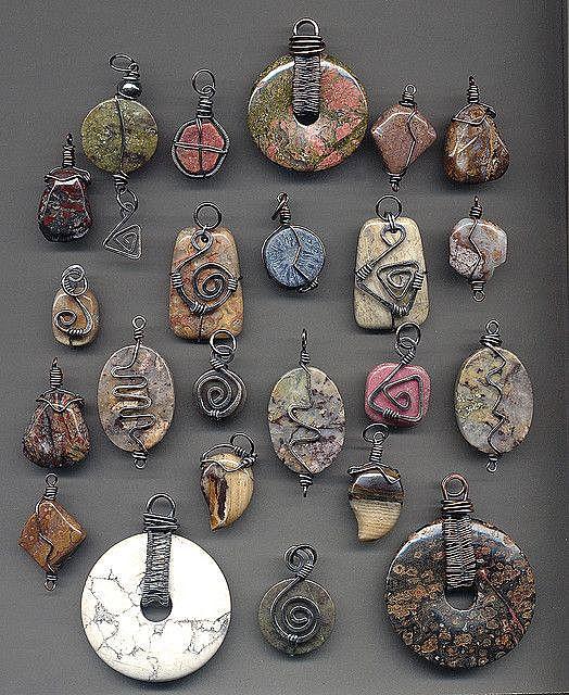 закрепленные камни
