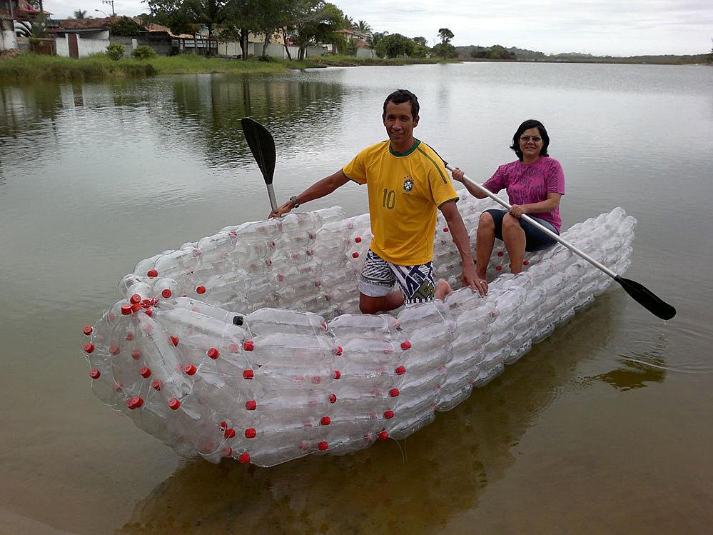 Как сделать лодку из бутылки своими руками 98